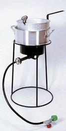 King Kooker 22PKPT 20-Inch Propane Outdoor Cooker with 9-Quart Aluminum Fry (King 9 Fryer)