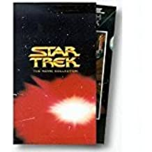 Star Trek Movie Collection Gift Set; Regular Screen VHS ; 6 Feature Films: The Motion Picture , the Wrath of Khan, Search for Spock, Voyage Home, Final Frontier, Undiscovered Country