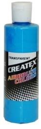 Createx Airbrush Paint, Transparent Caribbean Blue, 2 oz (5105-02) ()