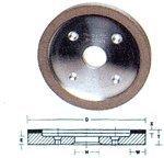 Diamond Face Plates Wheels (Type D6AC) Dia: 6