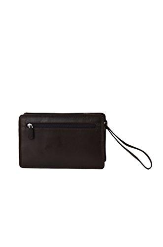 Gérard Henon bolso de cuero gama Soft Line para hombre marrón