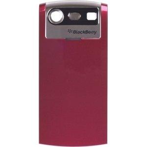 BlackBerry Pearl 8110, 8120, 8130 Battery Door Cover (Red)