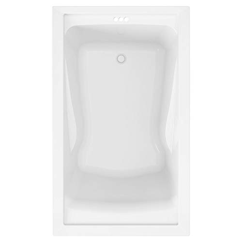 American Standard 2771V002.011 Evolution 5 ft. x 36 in. Deep Soaking Tub with Reversible Drain, Arctic