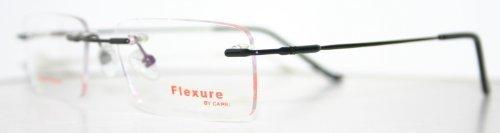 Flexible Fx26 Black Men's Titanium Optical Eyeglass Frame by - Online Frames Sale Eyeglass For