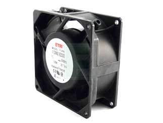 ETRI 113XN-0182-000 113 Series 2850 RPM 92 x 92 x 38 mm 44.5/53 CFM 115 V Ball Bearing Fan - 1 item(s)