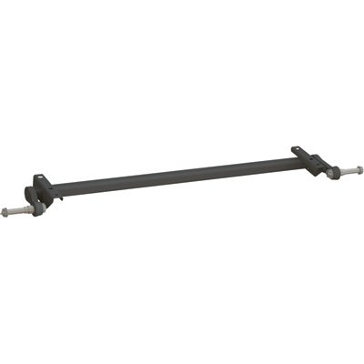 Ultra-Tow Torsion Trailer Axle - 2,200-Lb. Capacity, With Brackets, 1in. Abov... (Axles Trailer Torsion)