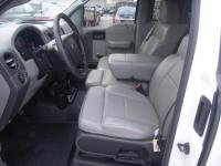 Split Front Bench Seat - Durafit Seat Covers, F372-D8-Ford F150 XL or Standard Cab Front 40/20/40 Split Bench with Integrated Seatbelts and Solid Center Armrest Seat Covers in Dark Gray Twill
