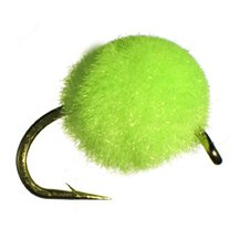 Egg Fly Fishing Flies for Fly Fishing (Chartreuse,