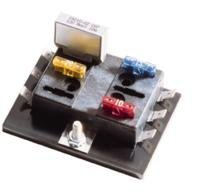 Bussmann BP/15600-06-20 Six Position ATC Fuse Panel (20A Per Position (95A max/panel), 32V Max), 1 Pack