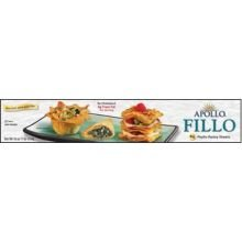 Athens Foods Apollo Fillo Dough Sheet, 16 Ounce -- 24 per case.