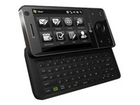 HTC T7272 Touch Pro Unlocked Full Keyboard Touch Screen Quad Band Phone (Black) Htc Touch Pro