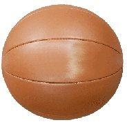 Medizinball - Gymnastikball aus Kunstleder, Gewicht 5 kg