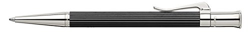 GRAF von Faber-Castell Classic Platinum Plated Ballpoint Pen - Ebony