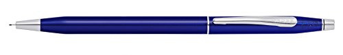 Cross Classic Century Blue Lacquer 0.7mm Pencil with Chrome Appointments ()