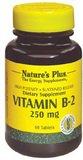 La vitamine B-2 250 mg Time Release - 60 - comprimé à libération prolongée