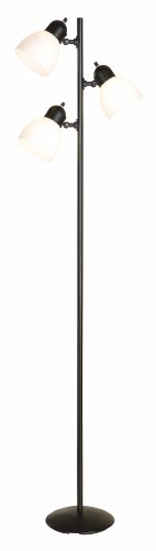 Normande Lighting JS1-650 64-Inch 3-Light Incandescent Trac-Tree Floor Lamp