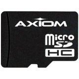 Axiom Memory 16 GB MicroSD High Capacity (microSDHC) - 1 Card MSDHC10/16GB-AX from AXIOM MEMORY SOLUTION,LC