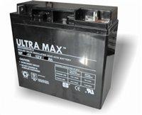 Ultramax NP20-12, 12v 20Ah 20HR (as 17Ah, 18Ah, 19Ah & 22Ah) Mobility Scooter, Jump Starter Battery