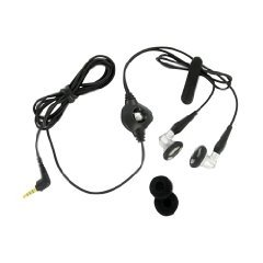 BlackBerry Wired Stereo headset, 3.5mm, Black