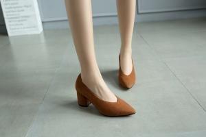 hexiajia - Zapatos Planos con Cordones mujer amarillo