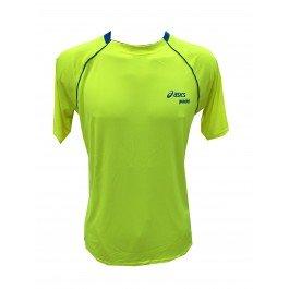 Camiseta Asics Amarillo Fluor-M: Amazon.es: Deportes y aire libre