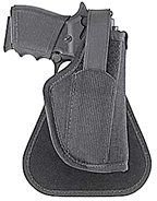 Uncle Mike's Law Enforcement Kodra Nylon Paddle Holster with Thumb Break (Size 1, Right Hand)