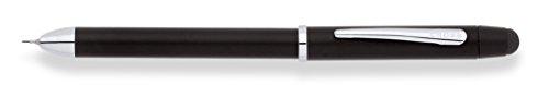 Cross Tech3 Stylus with Pen - Satin Black/Chrome ()