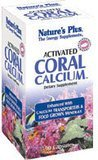 NaturesPlus Activated Coral Calcium - 345 mg, 90 Vegetarian Capsules - Natural Calcium Supplement with Magnesium & Vitamins, Supports Bone Health - Hypoallergenic, Gluten-Free - 30 Servings
