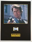 Dirty Harry - Film Cell (Senitype) - Limited Edition & Numbered