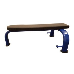 Flat Gym Bench – Commercial Grade with Band Pegs by CoreX