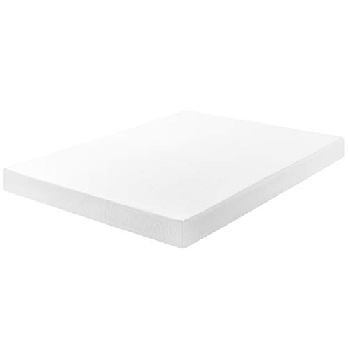 "Best Price Mattress 8"" Memory Foam Mattress & New Innovative Box Spring Set, Full, White"