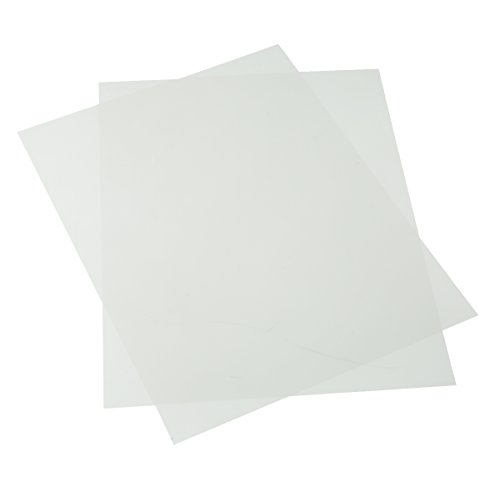 Accuform DTA213 Clear Transparency Film Inserts for use with Evacuation Map Holders (Sold Separately), 8-1/2