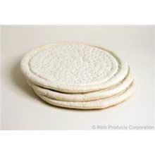 Rich Products Raised Edge Par Baked Pizza Crust, 19 Ounce - 12 per case.