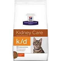 Hill's Prescription Diet k/d Kidney Care with Chicken Dry Cat Food 8.5 lb by Hill's Pet Nutrition