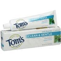 Peppermint Sls-Free Anticavity & Whitening Paste, 4.7 oz toothpaste