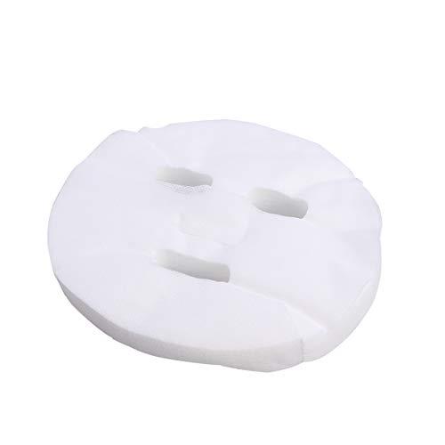Frcolor 100 Pcs Enlarged Cotton Facial Mask Sheets DIY Cosmetic Face Skin Care Mask
