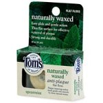 Antiplaque Flat Spearmint (Tom's of Maine Naturally Waxed Antiplaque Flossing Ribbon, Spearmint, 32-Yard Roll)