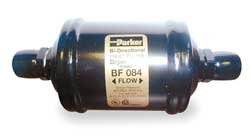Parker Hannifin BF084 Gold Label Series Bi-Flow Filter-Drier, Type Bf, 1/2 Sae Fitting, 10.4 Cu In Filter Area, 2.50'' Shell Diameter, 6.35'' Length by Parker Hannifin