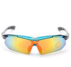 solLos Montura antideslumbramiento Rainbow nocturnaGafas Hombres de para Color Gafas Hombres Yumeik metálica de Light Blue Coche Conducción Visión Nocturna qY6xx7f