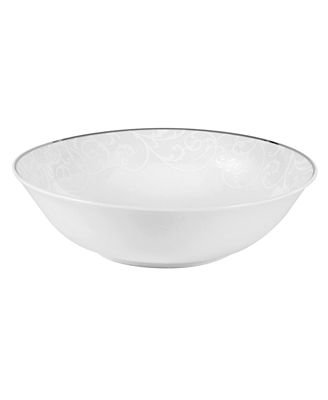 picture of Mikasa Parchment Pearl Vegetable Bowl 9""