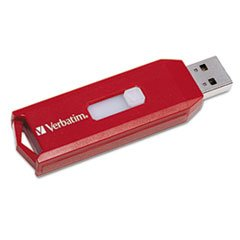 Verbatim Password Protection 32GB Store 'n' Go USB Drive, Red