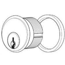 Standard Mortise Cylinder - Adams Rite 4036-1 Standard Mortise Cylinder