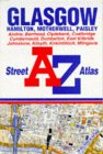 A. to Z. Glasgow Street Atlas (A-Z Street Atlas) by Geographers' A-Z Map Company front cover