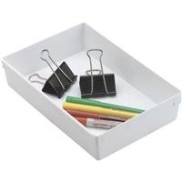 Rubbermaid Home: 9X6 Wht Drawer Organizer 2916-Rd-Wht -2Pk