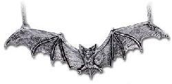 Gothic Bat Pendant by Alchemy Gothic, ()