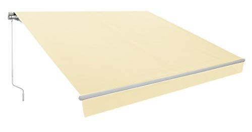 Zenvida Awning Retractable Manual Patio Deck Sun Shade Canopy