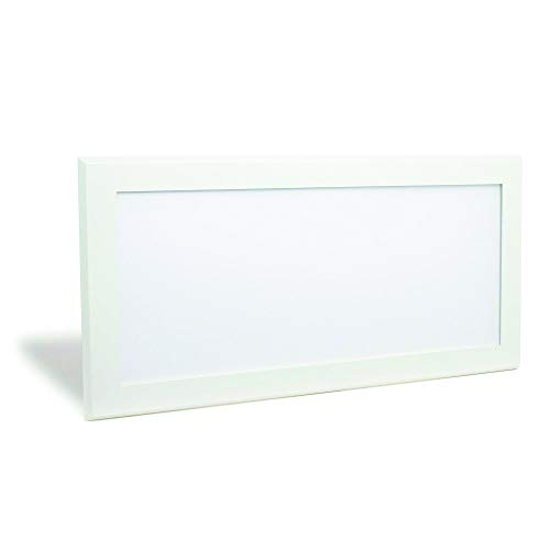 Pixi Lighting 1x2' Edge-lit LED Panel with Tru-Flat Technology, 4000K (Cool White), 90-130V Interal Driver, Ultra-Slim Surface Mount Panel