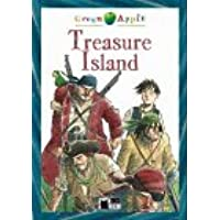 Green Apple: Treasure Island + audio CD
