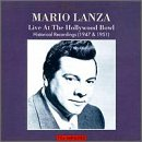 Mario Lanza Live At The Hollywood Bowl: Historical Recordings (1947 & 1951)