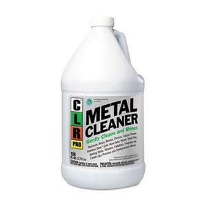 CLR PRO Metal Cleaner, 128Oz Bottle, 4/Carton